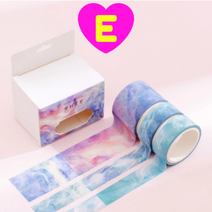 Watercolor Washi