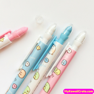 3 Pc Kawaii Sumikko Gurashi & Friends Mechanical Pencils