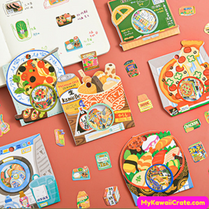 Japanese Food Stickers