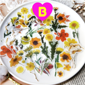 Spring Floral Stickers