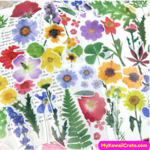 Colorful Flowers Stickers