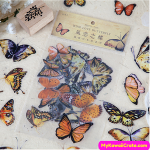 Butterfly Species Stickers