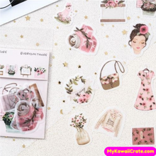 40 Pc Girly Things Decorative Stickers