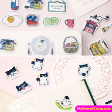 40 Pc Pk Kawaii Multicolor Series Stickers