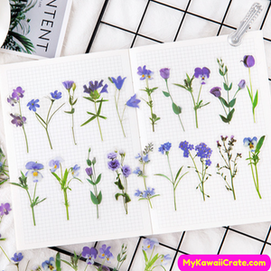 Lily Flowers Stickers