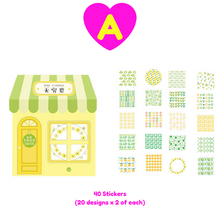40 Pc Pack Little House Full of Love Stickers