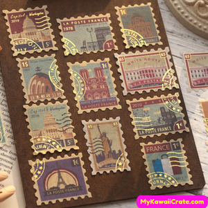 Gilding Stamp Stickers