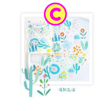 Cute Life Zakka Stickers / Daily Life Objects Pizza Coffee Dogs Cats Cactus Plants Stickers