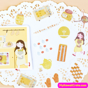 Cute Girls Decorative Stickers