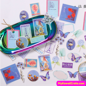 Beautiful scrapbooking stickers