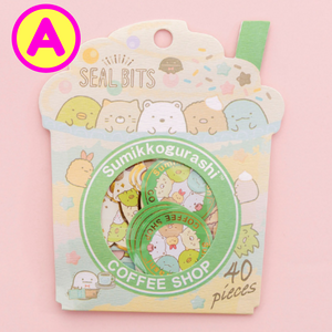 40 Pc Pack Cute Sumikko Gurashi Seal Bits Stickers