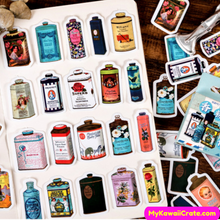 Perfume Bottle Stickers