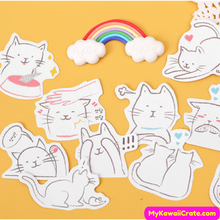 Adorable Cats Sticker Pack