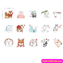 Cartoon Animals Sticker