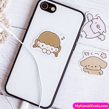 45 Pc Kawaii Baby Animals and Cute Girl Stickers