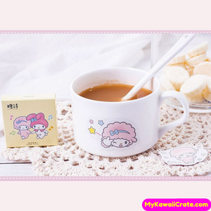 45 Pc Pack Kawaii Baby Sheep and Melody Girl Stickers