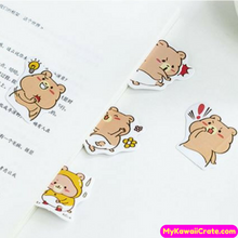45 Pc Pk Kawaii Bear Adventures Decorative Mini Stickers