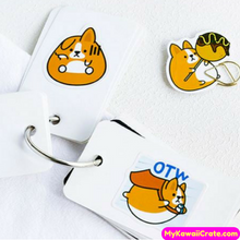 45 Pc Kawaii Chubby Corgi Dog Stickers