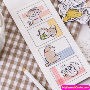 Mischievous Dog Stickers