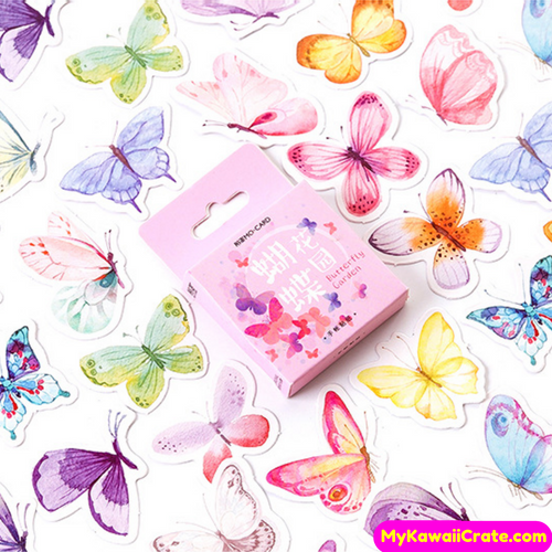 Butterfly Garden Stickers