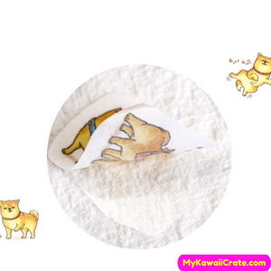 45 Pc Pack Daily Life of a Dog Stickers ~ Shiba Inu Stickers
