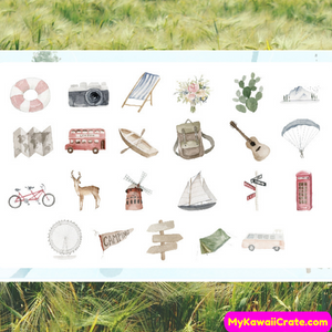 outdoor activities sticker