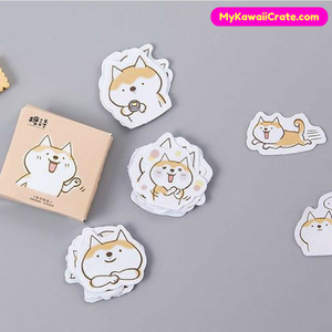Kawaii Cute Shiba Inu Dog Mini Stickers