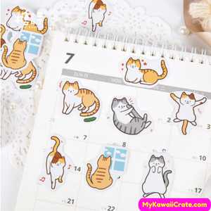 Kitten and Puppies Stickers