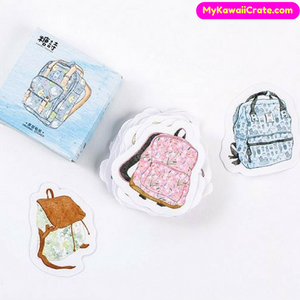 45 Pc Pk School Backpack Decorative Stickers