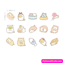 45 Pc Pack Sumikko Gurashi Stickers