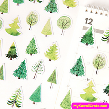 Swiss Alps Tree Stickers