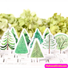 Pine Tree Stickers