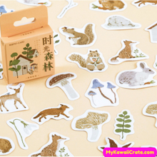 A Tiny Forest Decorative Stickers 46 Pc Pack