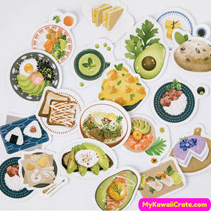 Japan Meals Stickers