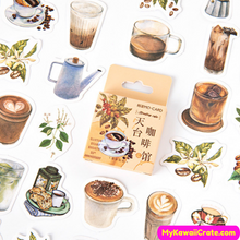 Gourmet Coffee Stickers