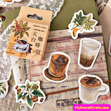 Iced Coffee Stickers