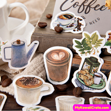 Coffee Bean Stickers