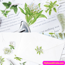 Floral Sealing Stickers