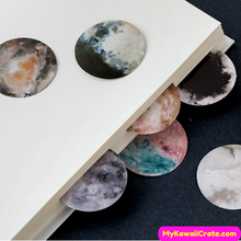 46 Pc Pack Super Moon Stickers