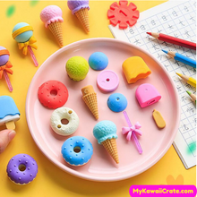 Donut Pencil Erasers