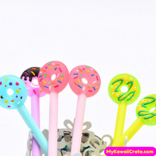 4 Pc Colorful Sweet Donut Gel Pens