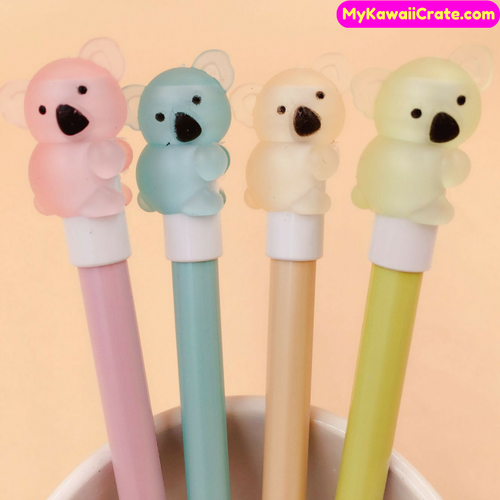 4 Pc Kawaii Koala Bear Mechanical Pencils
