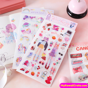 Fashion Girl Stickers