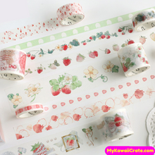 Strawberries Washi