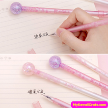 4 Pc Sakura Cherry Blossoms Lolly Pop Style Gel Pens