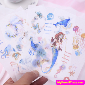 Ocean Creatures Stickers