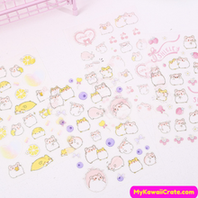 Hamsters Sticker Set