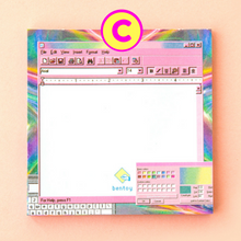 50 Pages Kawaii Computer Style Memo Pad ~ Cute Notepad