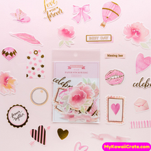 Pink Love Stickers