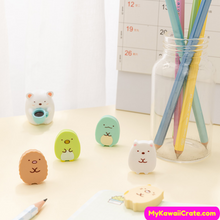 Cartoon Animals Erasers